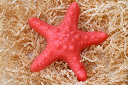 """Мыло ручной работы. Ярмарка Мастеров - ручная работа. Купить мыло """"Морская звезда"""". Handmade. Комбинированный, мыло в подарок"""