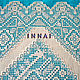Tablecloth - linen panels with embroidery, handmade lace. Panels. EmbroideryINNAI. My Livemaster. Фото №4