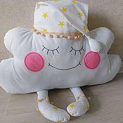 Для дома и интерьера handmade. Livemaster - original item Pillows for children: Pillow-cloud. Handmade.