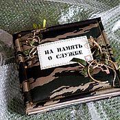 Фотоальбомы ручной работы. Ярмарка Мастеров - ручная работа Фотоальбомы: Дембельский. Handmade.
