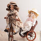Винтаж ручной работы. Ярмарка Мастеров - ручная работа Две сестры, Образы прошлого, старая кукла. Handmade.