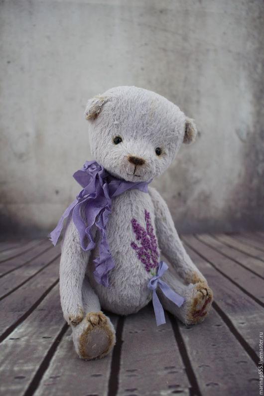 Мишки Тедди ручной работы. Ярмарка Мастеров - ручная работа. Купить Леони. Handmade. Бледно-сиреневый, мишки