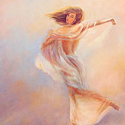 Картины и панно ручной работы. Ярмарка Мастеров - ручная работа В танце. Handmade.