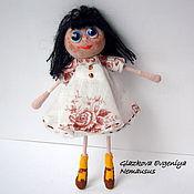 """Куклы и игрушки ручной работы. Ярмарка Мастеров - ручная работа Куколка-малышка """"Сима"""". Handmade."""