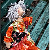Куклы и игрушки ручной работы. Ярмарка Мастеров - ручная работа Кукла в стиле Тильда Роза Алмазновна. Handmade.