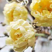 Цветы и флористика ручной работы. Ярмарка Мастеров - ручная работа Желтые тюльпаны.. Handmade.