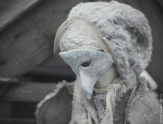 Коллекционные куклы ручной работы. Ярмарка Мастеров - ручная работа. Купить Птица. Handmade. Бледно-сиреневый, крылья, коллекционная кукла