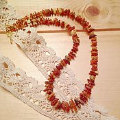"Украшения handmade. Livemaster - original item Necklace ""Amber"". Handmade."