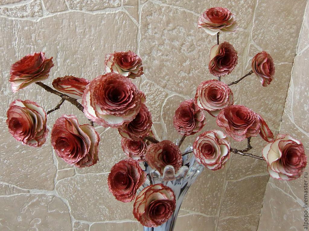 Розы деревянная купить многолетние цветы сибири купить в кемерово