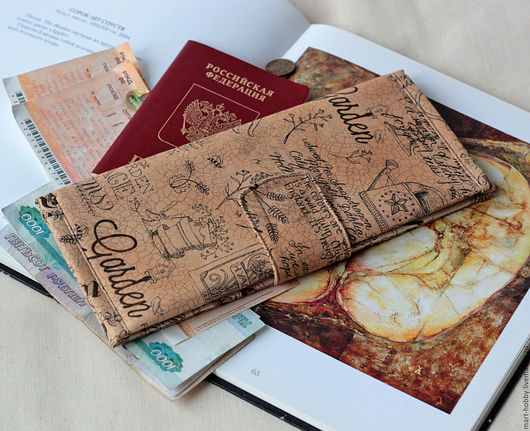 Холдер для документов Garden travel organizer Мария Исмангалиева M`Art холдер для документов