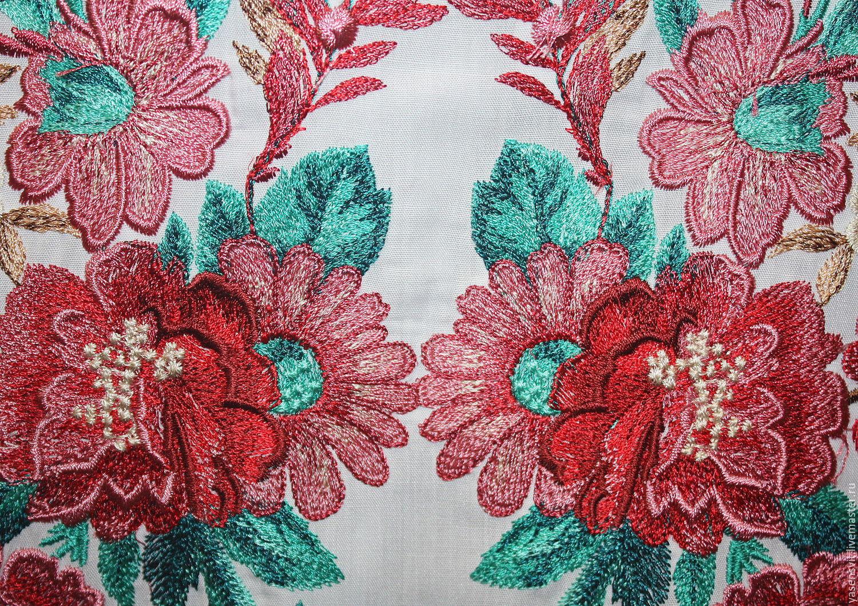 Какая ткань для вышивки