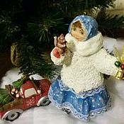 Куклы и игрушки handmade. Livemaster - original item Cotton toy she. Handmade.