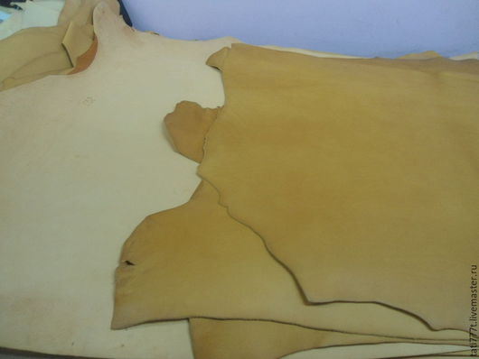 Шитье ручной работы. Ярмарка Мастеров - ручная работа. Купить Кожа Растительного дубления (КРС 1,5 -2,8 см). Handmade.