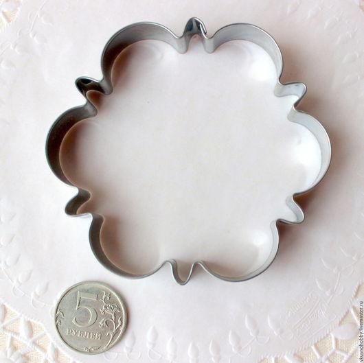 Другие виды рукоделия ручной работы. Ярмарка Мастеров - ручная работа. Купить Снежинка, основание, 9 см. Резак, каттер, формочка. Handmade.