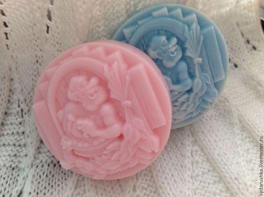 """Мыло ручной работы. Ярмарка Мастеров - ручная работа. Купить Мыло """"Банька"""". Handmade. Голубой, мыло для мужчин, туалетное мыло"""