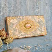 Сувениры и подарки handmade. Livemaster - original item Vintage openwork copernica Sunset gold. Handmade.