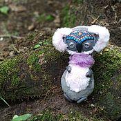 Куклы и игрушки handmade. Livemaster - original item Little Cosmic Koala Bear, art toy. Handmade.