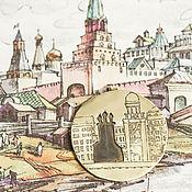 Украшения ручной работы. Ярмарка Мастеров - ручная работа Кулон Москва, которой нет. Handmade.