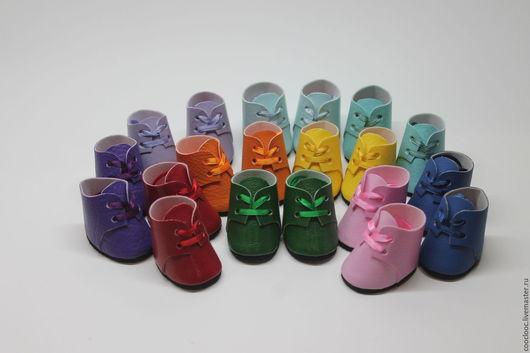 Одежда для кукол ручной работы. Ярмарка Мастеров - ручная работа. Купить Ботинки и сапожки для кукол. Handmade. Ботинки для кукол, большеножка