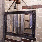 Для дома и интерьера ручной работы. Ярмарка Мастеров - ручная работа Зеркало в деревянном багете. Handmade.