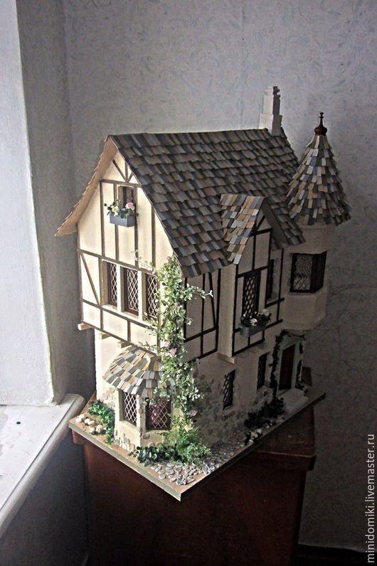 Кукольный дом ручной работы. Ярмарка Мастеров - ручная работа. Купить Мышкин дом. Handmade. Комбинированный, Дом для кукол, картон