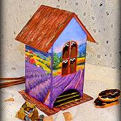 """Для дома и интерьера ручной работы. Ярмарка Мастеров - ручная работа Чайный домик """"Просторы прованса"""". Handmade."""