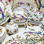 Посуда handmade. Livemaster - original item Painted porcelain Tea set Chinoiserie. Handmade.