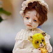 Куклы и игрушки ручной работы. Ярмарка Мастеров - ручная работа Циля( шарнирная кукла). Handmade.