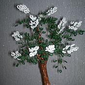 Подарки к праздникам ручной работы. Ярмарка Мастеров - ручная работа Деревья из бисера. Handmade.