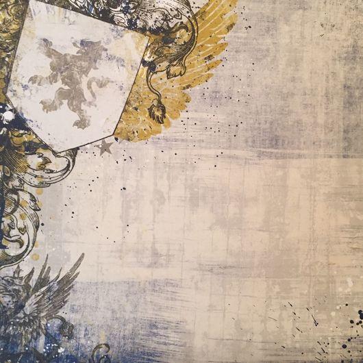 """Открытки и скрапбукинг ручной работы. Ярмарка Мастеров - ручная работа. Купить Набор """"Рыцарские романы"""" 21 лист. Handmade. Рыцарь"""