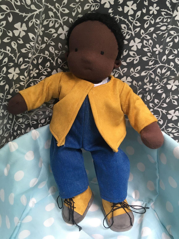 Вальдорфская кукла с набором одежды, Вальдорфская игрушка, Люберцы, Фото №1