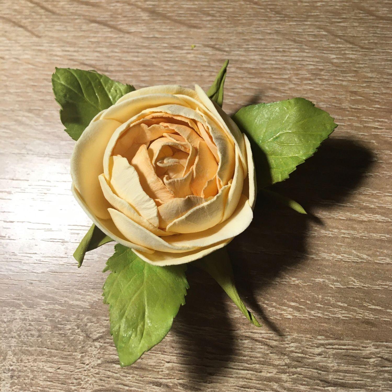 Роза -резинка для волос, Заколки и резинки для волос, Екатеринбург,  Фото №1
