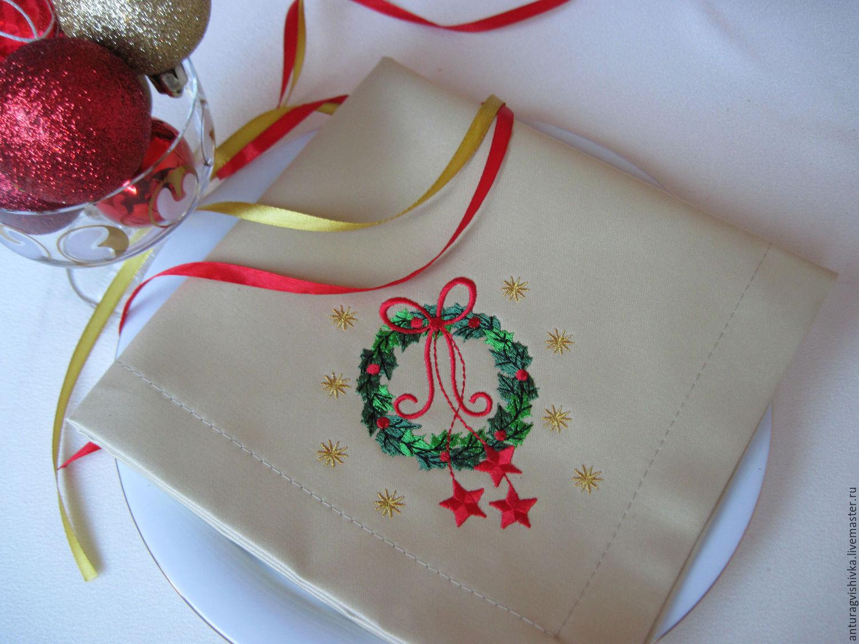 Вышивка скатерти на заказ коллекция схем - Промвышивка 65