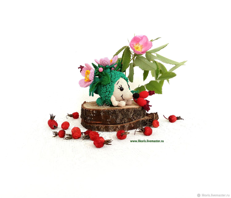 """Шиповник! Коллекция """"Цветочные Ёжики!"""", Мягкие игрушки, Новосибирск,  Фото №1"""