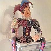Куклы и игрушки ручной работы. Ярмарка Мастеров - ручная работа Старый шут. Handmade.