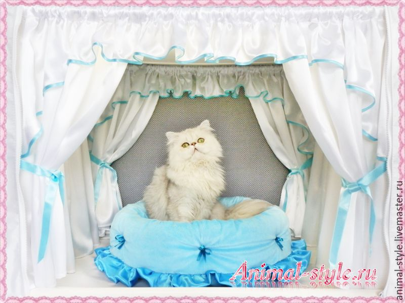 `White iceberg` the Design of exhibition tents for cats