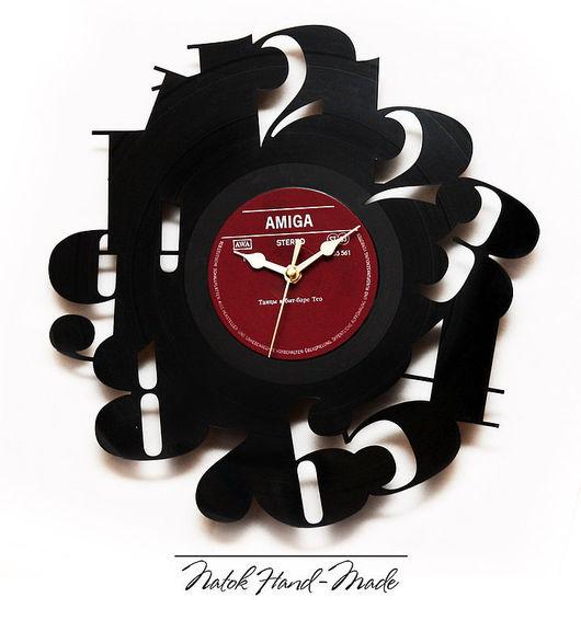 "Часы для дома ручной работы. Ярмарка Мастеров - ручная работа. Купить Часы ""Цифры"". Handmade. Часы интерьерные, часы настенные"