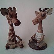 Подарки к праздникам ручной работы. Ярмарка Мастеров - ручная работа Коза из джута.. Handmade.