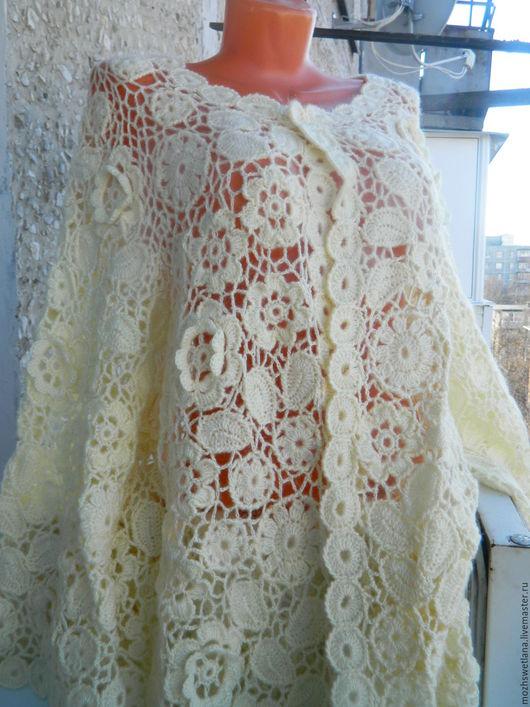 """Верхняя одежда ручной работы. Ярмарка Мастеров - ручная работа. Купить Пальто """" Нежность """". Handmade. Кремовый"""