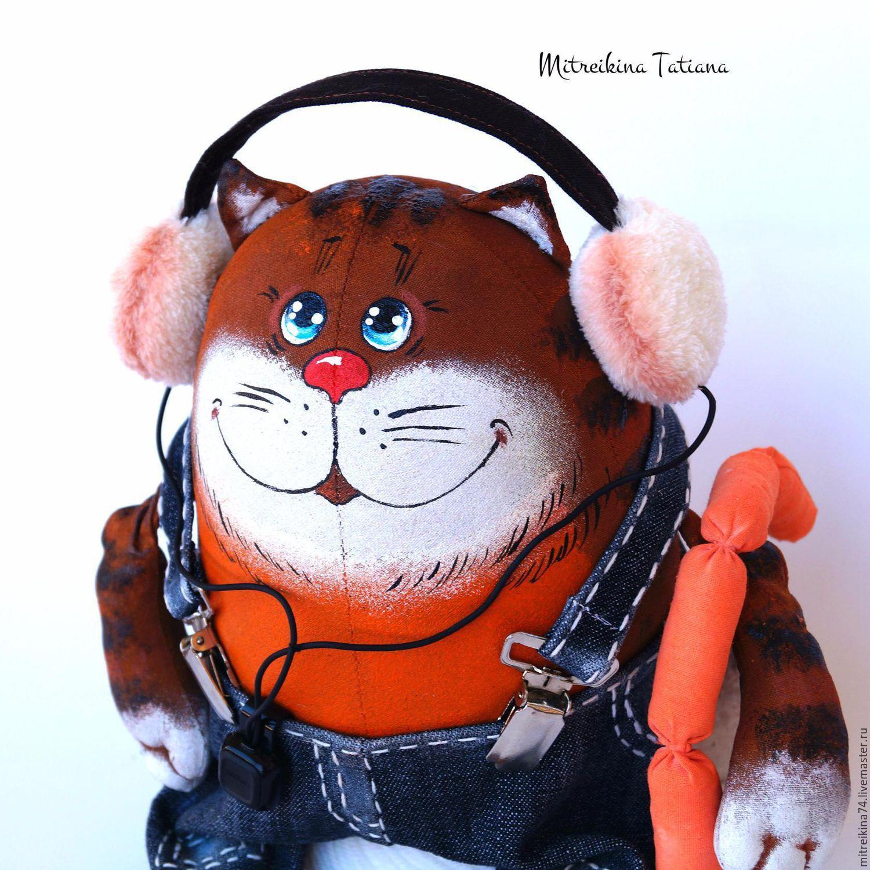 Кот тигр мультфильм