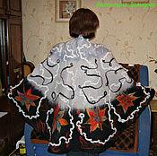 Одежда handmade. Livemaster - original item Poncho felted