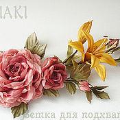 Цветы и флористика ручной работы. Ярмарка Мастеров - ручная работа Ветка для подхвата штор. Handmade.