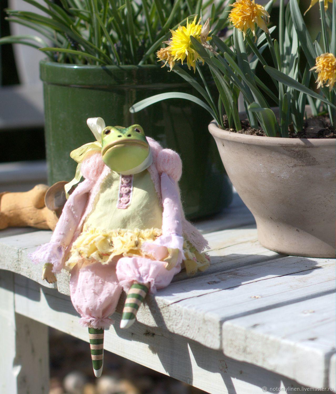 Лягушка, Интерьерная кукла, Москва,  Фото №1