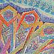 """handkerchief ornaments, a series of """"East Karusel"""" detail"""
