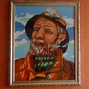 """Картины и панно ручной работы. Ярмарка Мастеров - ручная работа Картина """"Путешественник"""". Handmade."""