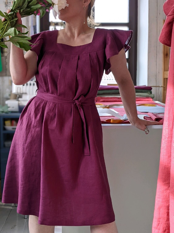 Льняное платье Fly, Платья, Кобрин,  Фото №1