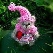 Куклы и игрушки ручной работы. Ярмарка Мастеров - ручная работа Мишки вязаные. Медвежонок вязаная игрушка. мишка в одежде. Handmade.