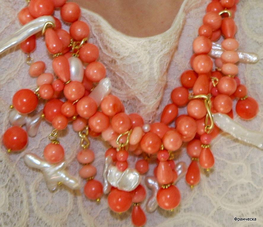 купить в москве коралловые бусы из египта кожа ангела показать цены