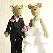 Куклы и игрушки handmade. Livemaster - original item wedding bears. Handmade.