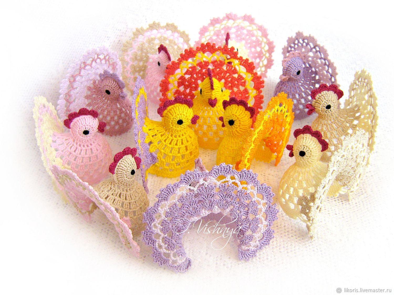 Openwork Easter chicken, Eggs, Novosibirsk,  Фото №1